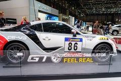 Toyota GT86, Motorowy przedstawienie Genewa 2015 Obrazy Royalty Free