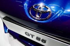 Toyota GT 86 nos carros de IAA Imagens de Stock Royalty Free