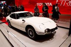 Toyota 2000GT på Genève 2017 Royaltyfria Bilder