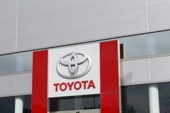Toyota-het handel drijven stock afbeelding