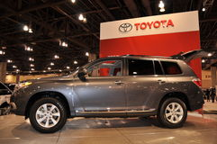 Toyota Highlander Stock Photo
