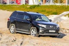 Toyota Highlander Royalty Free Stock Photo