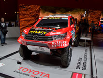 Toyota Hiliux Dakar at Geneva 2016 Royalty Free Stock Image