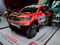Toyota Hiliux Dakar at Geneva 2016 Stock Images