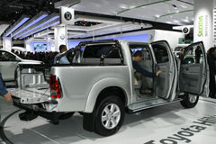 Toyota Hilux. At the Moscow International Automobile Salon (MIAS-2010) August 25 - September 5 Royalty Free Stock Photos