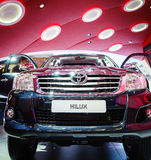 Toyota Hilux, Motor Show Geneva 2015 Stock Image