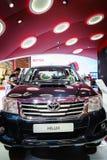 Toyota Hilux, Motorshow Genève 2015 Royalty-vrije Stock Fotografie