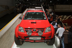 Toyota Hilux Top Gear Polar Expedition-Geneva 2012 Royalty Free Stock Image
