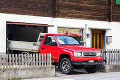 Toyota Hilux stock image