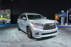 Toyota-Hochländer TRD Stockfoto