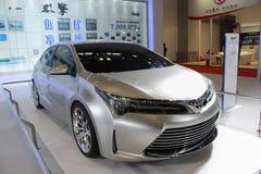 Toyota hybrid dual engine concept car Royalty Free Stock Image