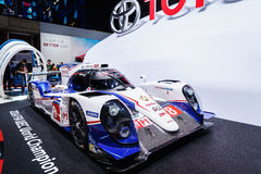 Toyota hybrid p1, Motor Show Geneva 2015 Royalty Free Stock Photography