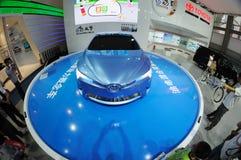 Toyota hybrid synergy drive Stock Image