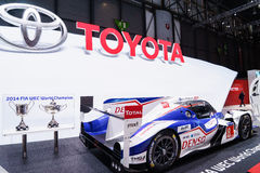 Toyota hybryd p1, Motorowy przedstawienie Geneve 2015 Obrazy Stock