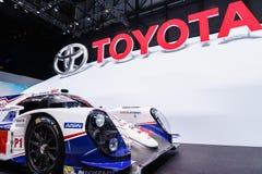 Toyota hybryd p1, Motorowy przedstawienie Genewa 2015 Zdjęcie Stock