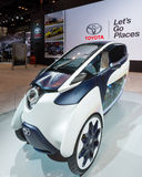 Toyota i-Road Concept Stock Photo