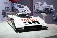 Toyota IMSA GTP Eagle MkIII  sports prototype on display Royalty Free Stock Images