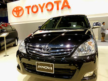 Toyota Innova Stock Photo