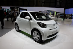 Toyota IQ at Geneva Motor Show Royalty Free Stock Photo