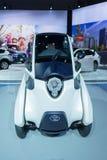 Toyota jag-VÄG på skärm Royaltyfri Bild