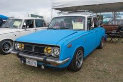 Toyota-Korona 1969 auf Anzeige Stockfotografie