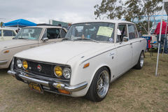 Toyota-Korona 1969 auf Anzeige Stockfotos