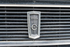 Toyota-Korona 1969 auf Anzeige Stockfoto