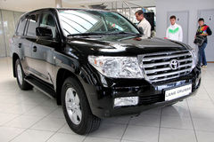 Toyota Land Cruiser  Royalty Free Stock Photo