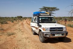 Toyota Land Cruiser Stock Photos