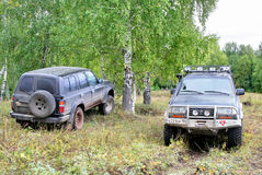 Toyota Land Cruiser 80 Royalty Free Stock Image