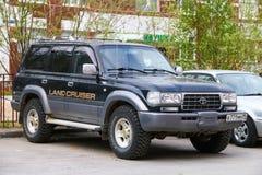 Toyota Land Cruiser 80 stock photo