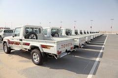 Toyota Land Cruiser Pickup Trucks Stock Photography