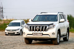 Toyota Land Cruiser Prado Stock Photography