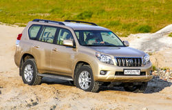 Toyota Land Cruiser Prado Stock Photos