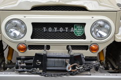 Toyota Land cruiser Serie 40 Stock Photo