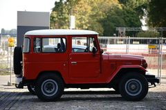 Toyota Land Cruiser Side View Stock Photography