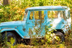 Toyota landcruiser Lizenzfreie Stockfotos