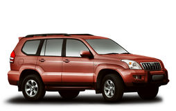 Toyota Landcruiser Stock Photos