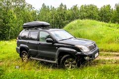 Toyota landen Kreuzer Prado 120 Lizenzfreies Stockbild
