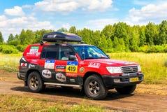 Toyota-Landkruiser 100 Royalty-vrije Stock Fotografie