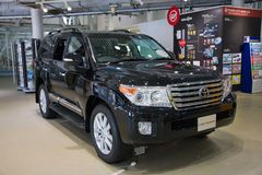 2017 Toyota-Landkruiser 200 Toyota-Auto japan Royalty-vrije Stock Fotografie