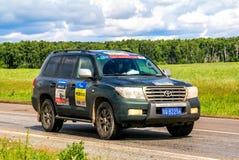 Toyota landkryssare 200 Arkivfoton