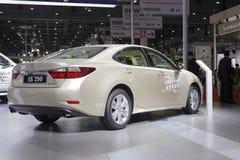 Toyota lexus es 250 samochodowy tylni widok Obrazy Royalty Free