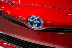 Toyota logo Obrazy Royalty Free