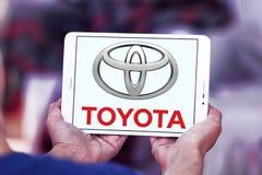 Toyota logo royaltyfri foto