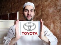 Toyota logo Stock Image
