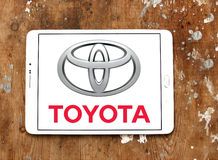Toyota logo Royalty Free Stock Images