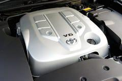 Toyota logo on engine Royalty Free Stock Photos