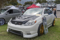 Toyota-Matrijs 2004 op vertoning Stock Afbeeldingen