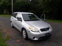Toyota matris 2007 royaltyfria foton